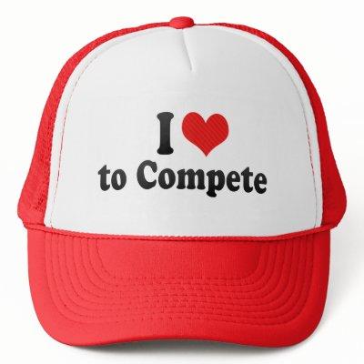 I like to compete!