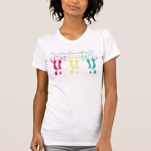I love to Contra Dance in Austin Texas T-shirts