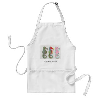 i love to cook!!! adult apron