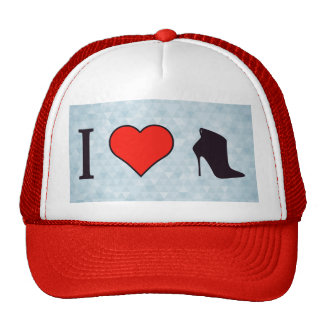 I Love To Cover My Feet Trucker Hat