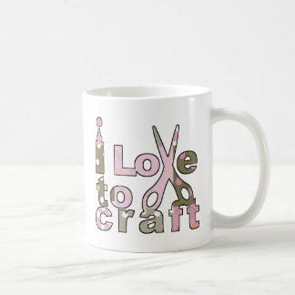 I Love to Craft Coffee Mug
