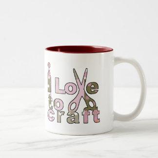 I Love to Craft Mugs