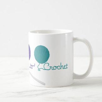 I Love To Crochet Coffee Mug