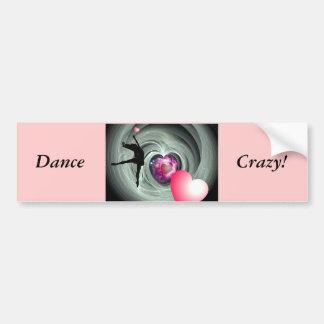 I Love To Dance! Car Bumper Sticker