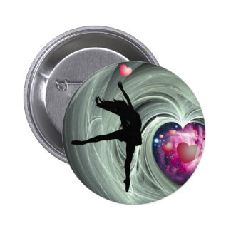 I Love To Dance! Pinback Button