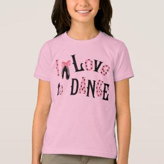 I Love to Dance Girls T-shirt