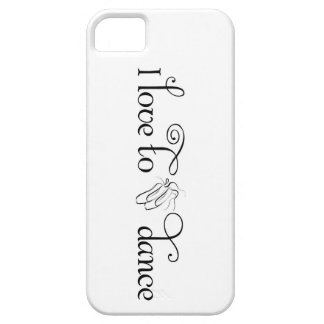 I Love To Dance iPhone 5 Case