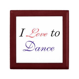 I Love to Dance Jewelry Box