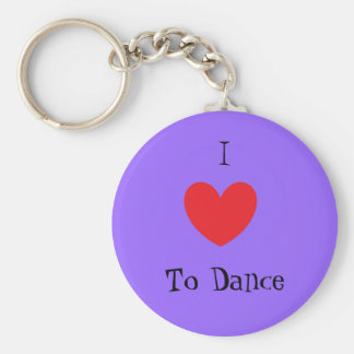 I Love To Dance, Keychain