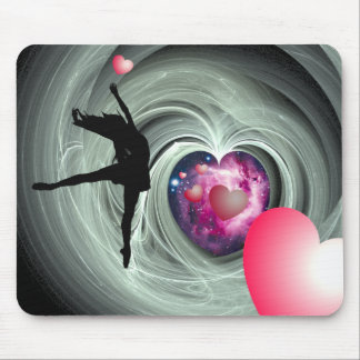 I Love To Dance! Mouse Pad