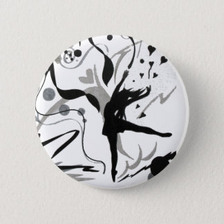 I Love To Dance Pinback Button