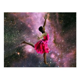 I Love To Dance! Postcard