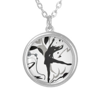 I Love To Dance! Silver Plated Necklace