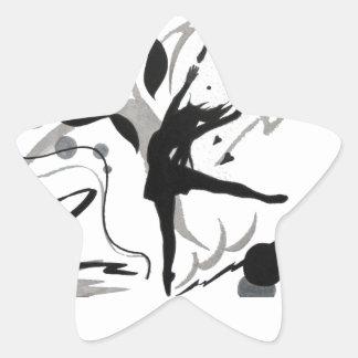 I Love To Dance! Star Sticker