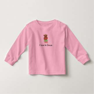 I Love to Dance Toddler T-shirt
