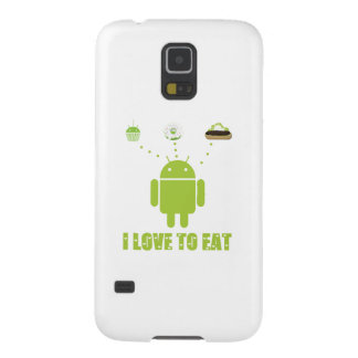 I Love To Eat Android Bug Droid Cupcake Eclair Galaxy Nexus Cover