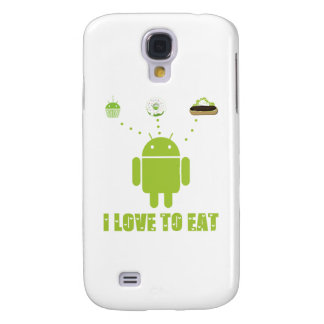 I Love To Eat Android Software Developer Humor Samsung Galaxy S4 Covers