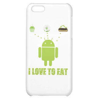 I Love To Eat Android Software Developer Humor iPhone 5C Case
