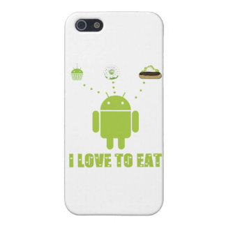 I Love To Eat Android Software Developer Humor iPhone 5 Cover