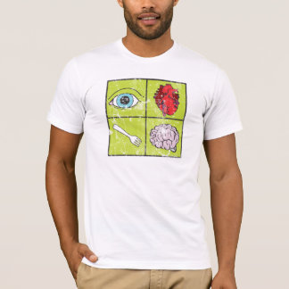 I Love To Eat Brains - Zombie T-Shirt