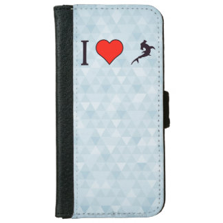 I Love To Eat Fish iPhone 6 Wallet Case