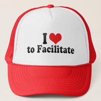 I Love to Facilitate Trucker Hat
