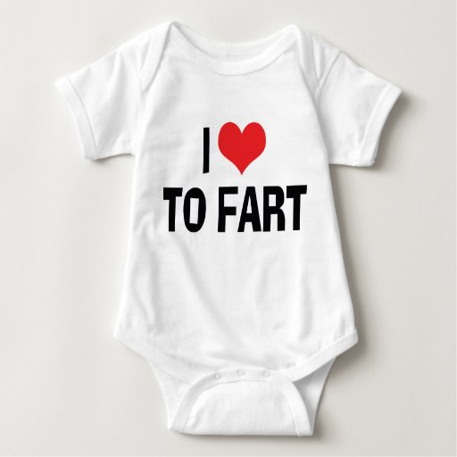 I Love To Fart T Shirt