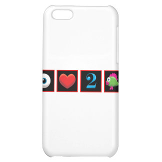 I LOVE TO FISH CASE FOR iPhone 5C