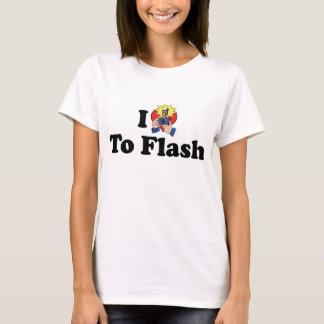 I Love To Flash - Photography Lover T-Shirt
