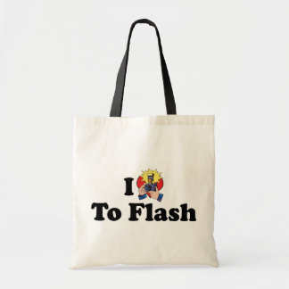 I Love To Flash - Photography Lover Tote Bag
