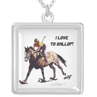 I Love To Gallop - Necklace
