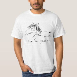 I love to Gallop Tee Shirt