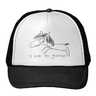 I Love to Gallop Trucker Hat