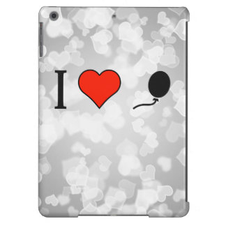 I Love To Have A Black Balloon iPad Air Cases