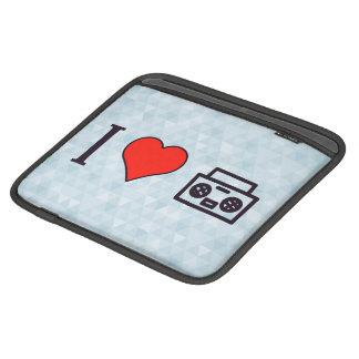 I Love To Hear Music iPad Sleeves