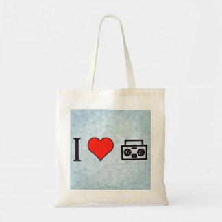 I Love To Hear Music Tote Bag