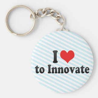 I Love to Innovate Keychain