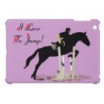 I Love To Jump Equestrian iPad Mini Case
