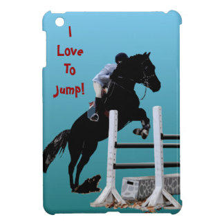 I Love To Jump Horse iPad Mini Case