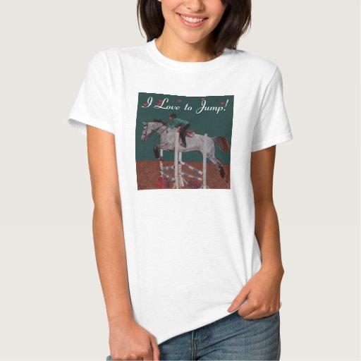 I Love to Jump! Horse T-Shirt