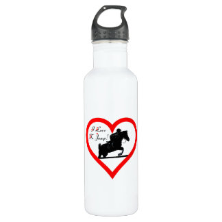 I Love To Jump! Liberty Stainless Steel Water Bottle