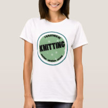 I Love to Knit Cute Knitting Gifts for Women T-Shirt