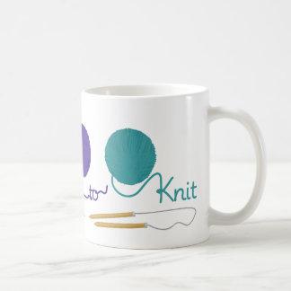 I Love To Knit Coffee Mug
