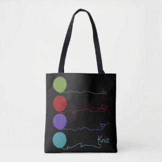 I Love To Knit Yarn Bag