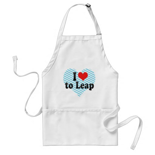 I Love to Leap Apron