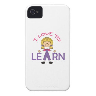 I LOVE TO LEARN Case-Mate iPhone 4 CASE