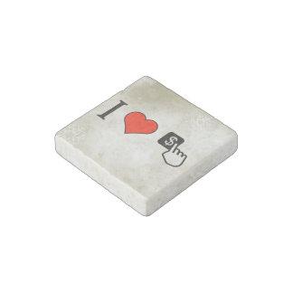 I Love To Make Money Online Stone Magnet