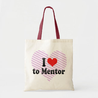 I Love to Mentor Tote Bag