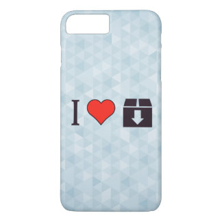 I Love To Move Out iPhone 8 Plus/7 Plus Case
