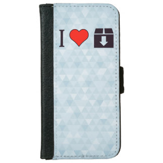I Love To Move Out Wallet Phone Case For iPhone 6/6s